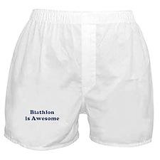 Biathlon is Awesome Boxer Shorts