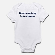Beachcombing is Awesome Infant Bodysuit