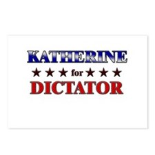 KATHERINE for dictator Postcards (Package of 8)