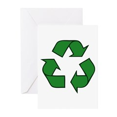 Recycle Symbol Greeting Cards (Pk of 20)