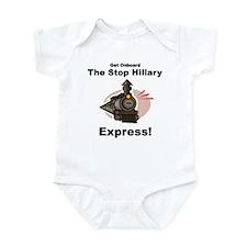 The Stop Hillary Clinton Express Infant Bodysuit