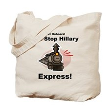 The Stop Hillary Clinton Express Tote Bag