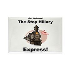 The Stop Hillary Clinton Express Rectangle Magnet