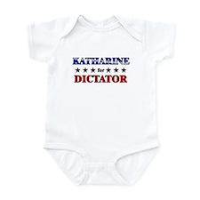 KATHARINE for dictator Infant Bodysuit