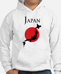 Map Of Japan Hoodie