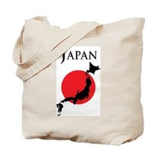 Map Of Japan Tote Bag