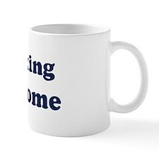 Kickboxing is Awesome Mug
