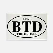 Beat The Drones Rectangle Magnet (10 pack)