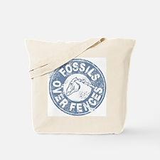 Fossils Over Fences Tote Bag