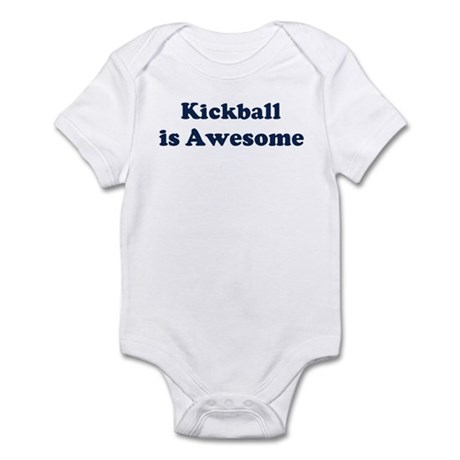 Kickball is Awesome Infant Bodysuit