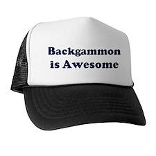 Backgammon is Awesome Trucker Hat