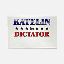 KATELIN for dictator Rectangle Magnet