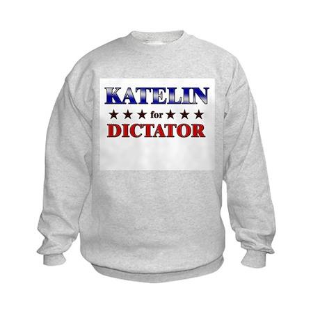 KATELIN for dictator Kids Sweatshirt