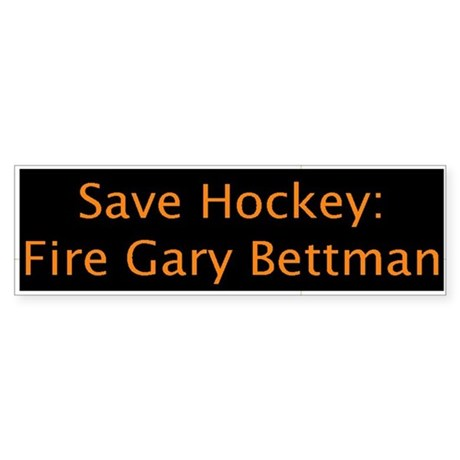 Fire Bettman (Bumper Sticker)