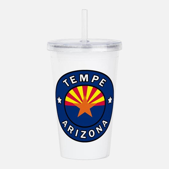 Tempe Arizona Acrylic Double-wall Tumbler