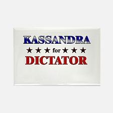 KASSANDRA for dictator Rectangle Magnet