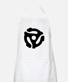 45 RPM Adapter BBQ Apron