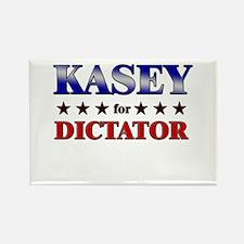 KASEY for dictator Rectangle Magnet