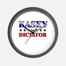 KASEY for dictator Wall Clock