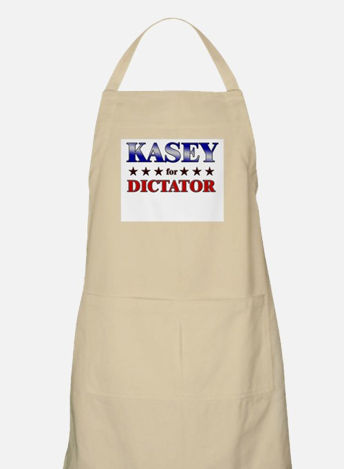 KASEY for dictator BBQ Apron