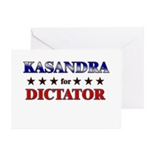 KASANDRA for dictator Greeting Cards (Pk of 10)