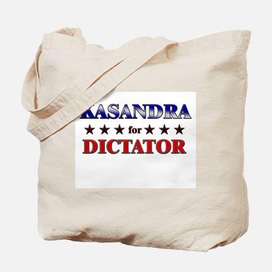KASANDRA for dictator Tote Bag
