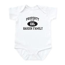 Property of Hardin Family Infant Bodysuit