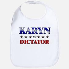 KARYN for dictator Bib