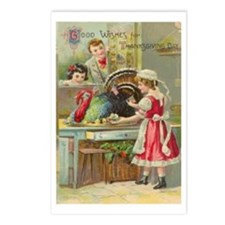 1910 Thanksgiving wishes Remake Postcards(Pk of 8)