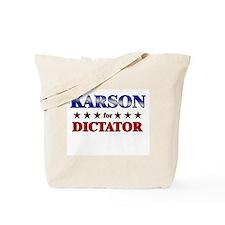 KARSON for dictator Tote Bag