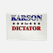 KARSON for dictator Rectangle Magnet