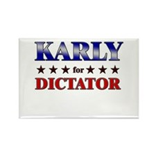 KARLY for dictator Rectangle Magnet