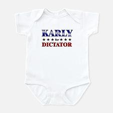 KARLY for dictator Infant Bodysuit