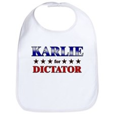 KARLIE for dictator Bib