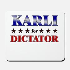 KARLI for dictator Mousepad