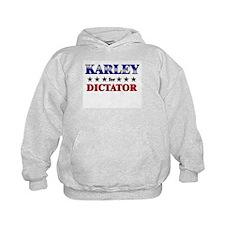 KARLEY for dictator Hoodie