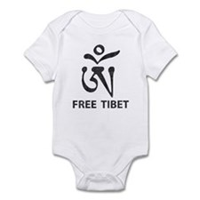Tibetan Om Symbol Infant Bodysuit