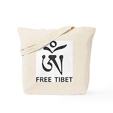 Tibetan Om Symbol Tote Bag