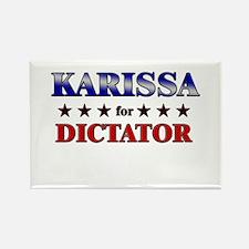 KARISSA for dictator Rectangle Magnet