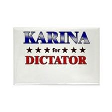 KARINA for dictator Rectangle Magnet