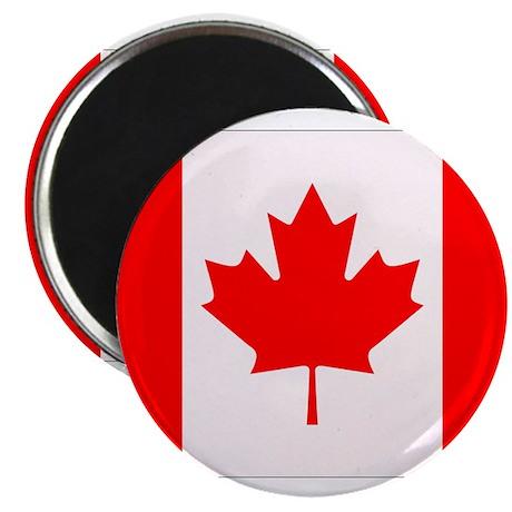 """Canadian Flag 2.25"""" Magnet (100 pack)"""