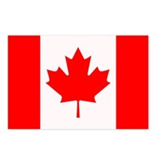 Canadian Flag Postcards (Package of 8)