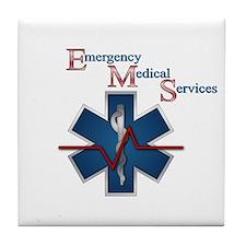 EMS Life Line Tile Coaster