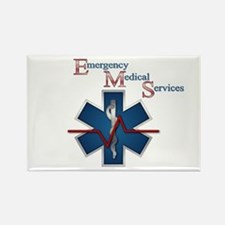 EMS Life Line Rectangle Magnet