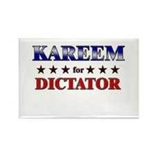 KAREEM for dictator Rectangle Magnet