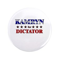 "KAMRYN for dictator 3.5"" Button"