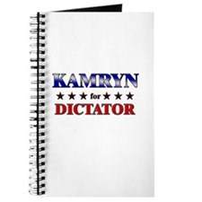 KAMRYN for dictator Journal