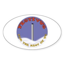 Festivus Oval Decal
