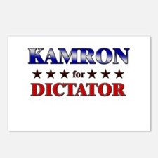 KAMRON for dictator Postcards (Package of 8)