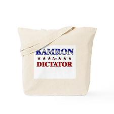KAMRON for dictator Tote Bag